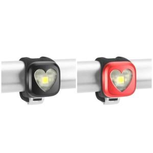 Lampka przednia Blinder 1 - serce