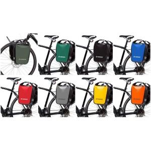 Sakwy rowerowe na przód/tył zestaw  - Crosso DRY 30 litrów