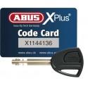 Zapięcie U-lock Abus Granit X-Plus 540/160HB230 + EaZyKF