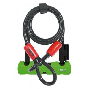 Zapięcie U-lock Abus Ultra Mini 410/150HB140 SH34 + Cobra 10/120
