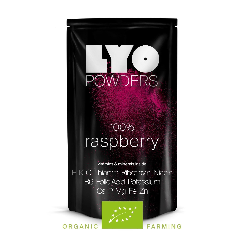Liofilizowana Eko malina proszek 50 g Lyofood