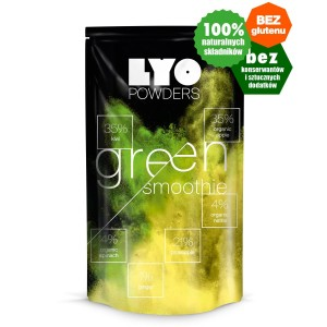 Liofilizowane Green smoothie - 14 g (150 ml) Lyofood