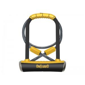Zapięcie U-lock OnGuard PitBull Mini LS 8007DT + linka
