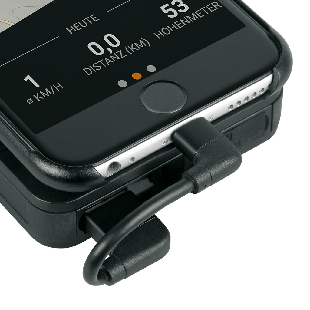 Uchwyt na telefon SKS COMPIT+ z baterią
