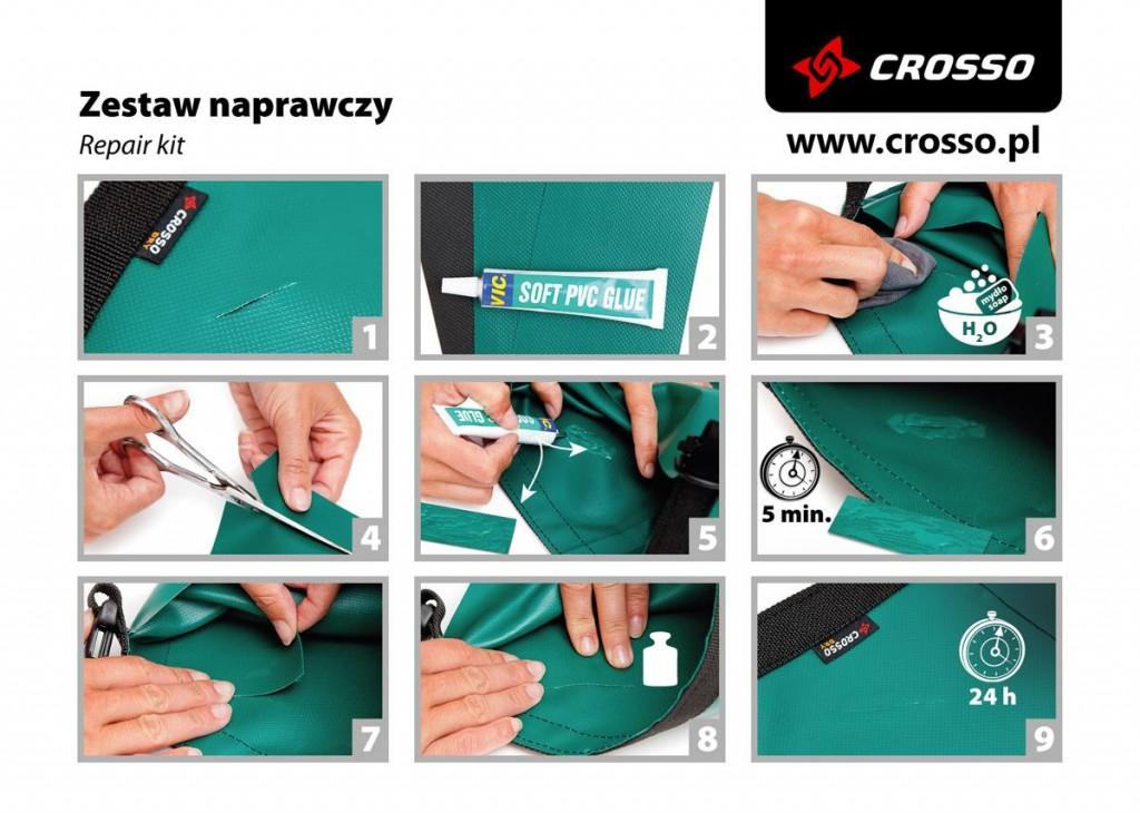 Instrukcja zestawu naprawczego Crosso