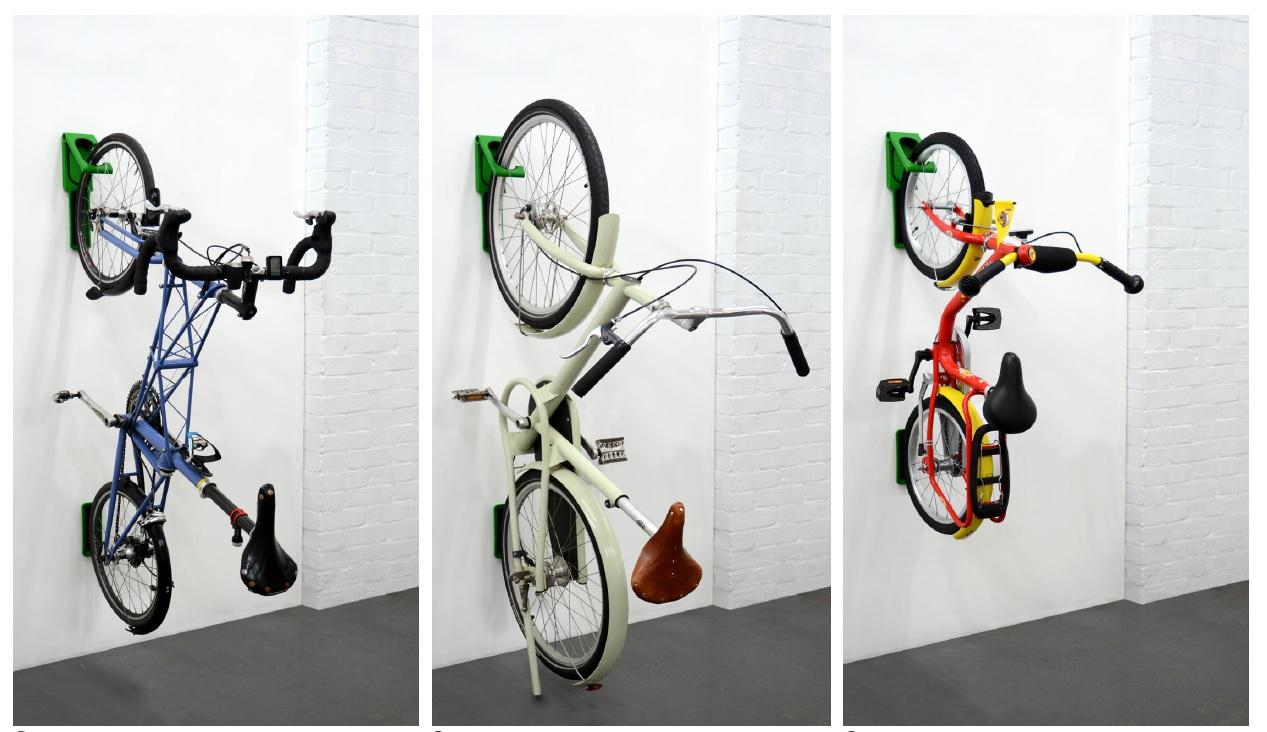 Wieszak na rower Cycloc Endo wieszanie