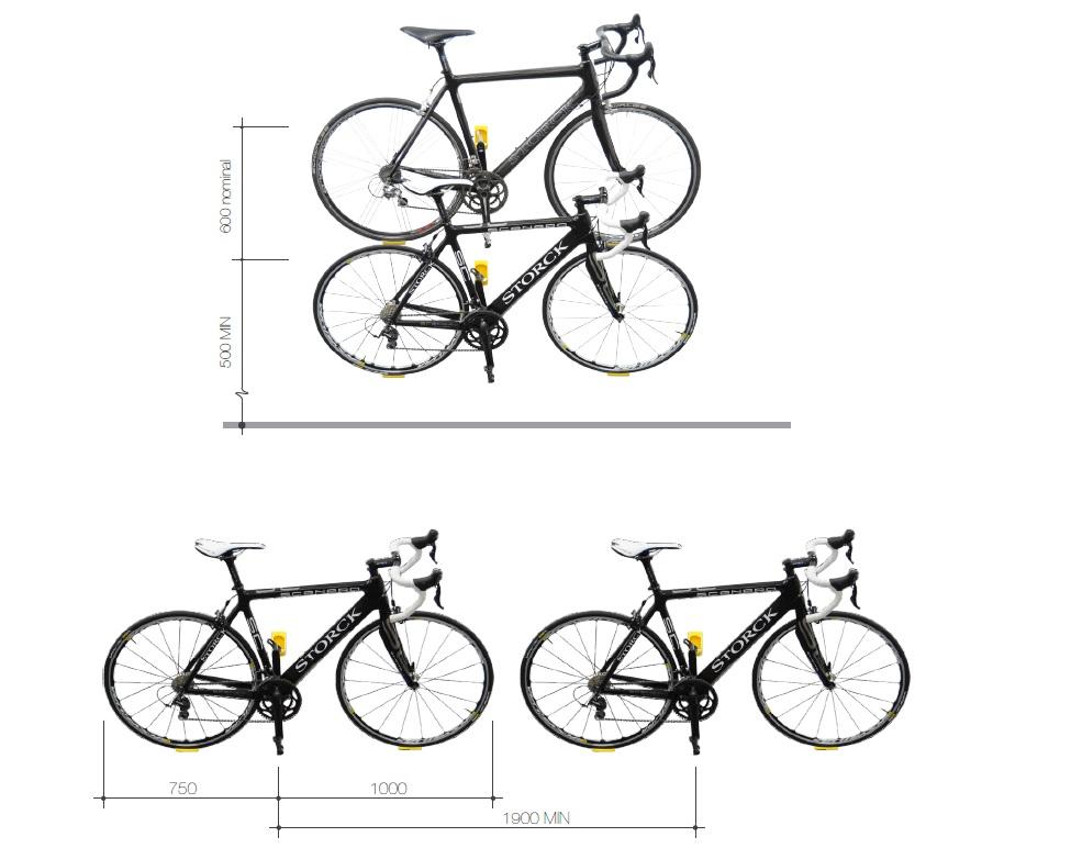 Jak wieszać rower na ścianie za pomocą Cycloc Hero?