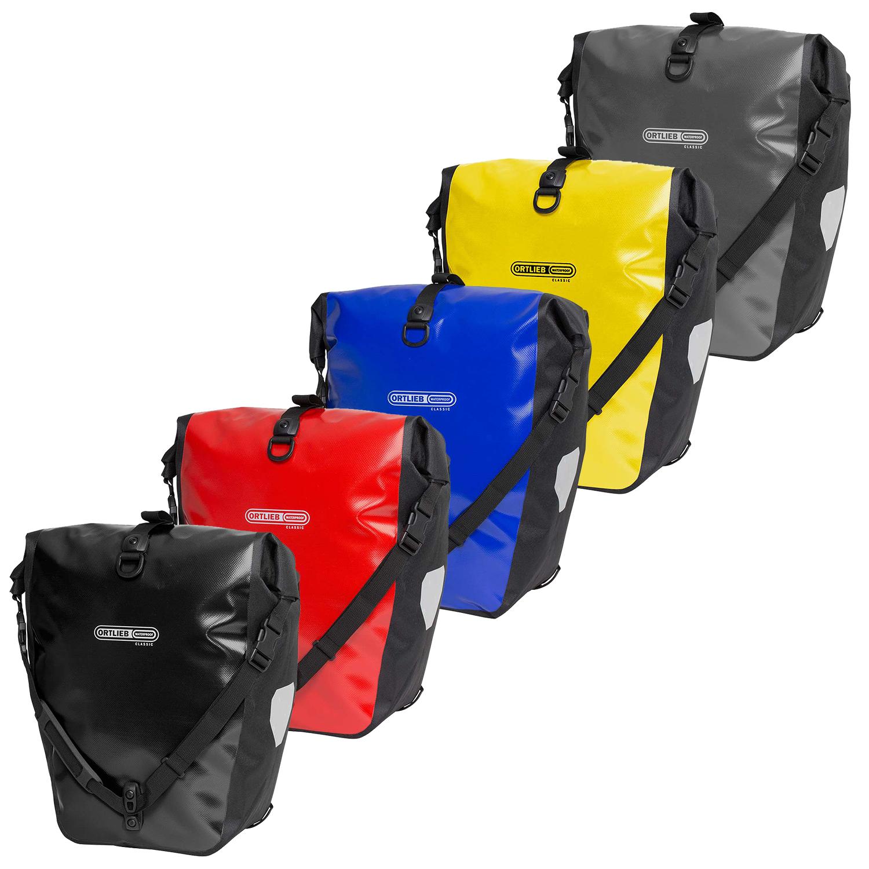 Zestawienie kolorów w sakwach Ortlieb Back-Roller Classic