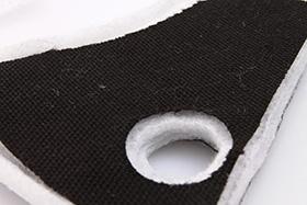 przekrój filtra z wkładką węglową respro