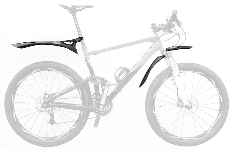 błotnik na rowerze