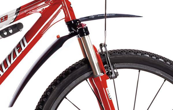 Błotnik SHOCKBOARD SKS na rowerze