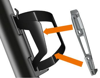 slidecage montowany z jednej i drugiej strony