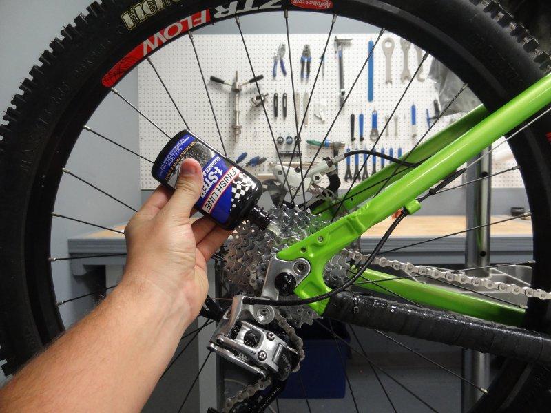 Smarowanie łańcucha roweru