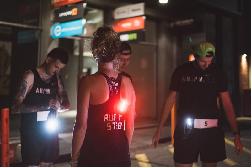 lampki knog plus dla biegaczy
