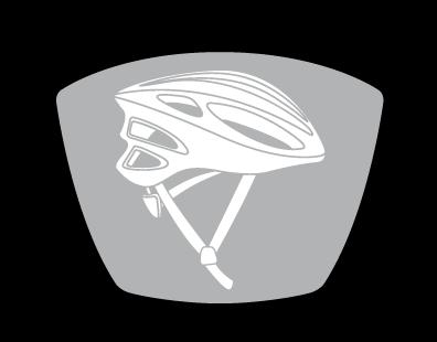 montaż do kasku rowerowego