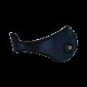 Maska antysmogowa BROYX  SPORT ALFA NAVY BLUE + 2 filtry