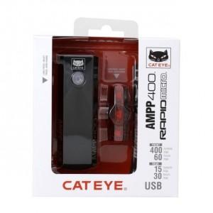 Zestaw CatEye AMPP 400 +...