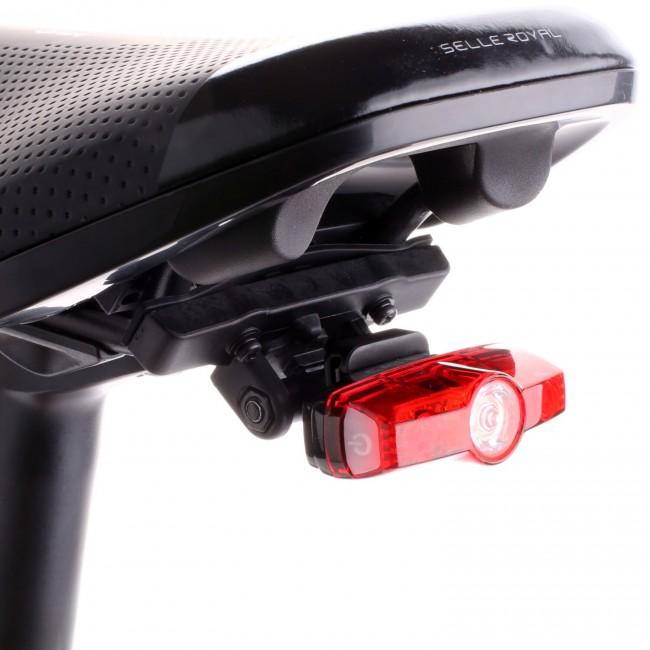 Zestaw Cateye lampa Rapid Mini + uchwyt do siodełka RM-1