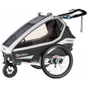 Przyczepka rowerowa Qeridoo...