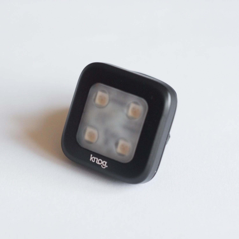 Lampka tył Knog Blinder 4 square – USB!