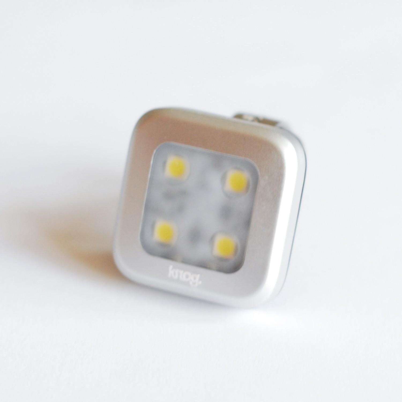 Knog Blinder 4 square tył – USB!