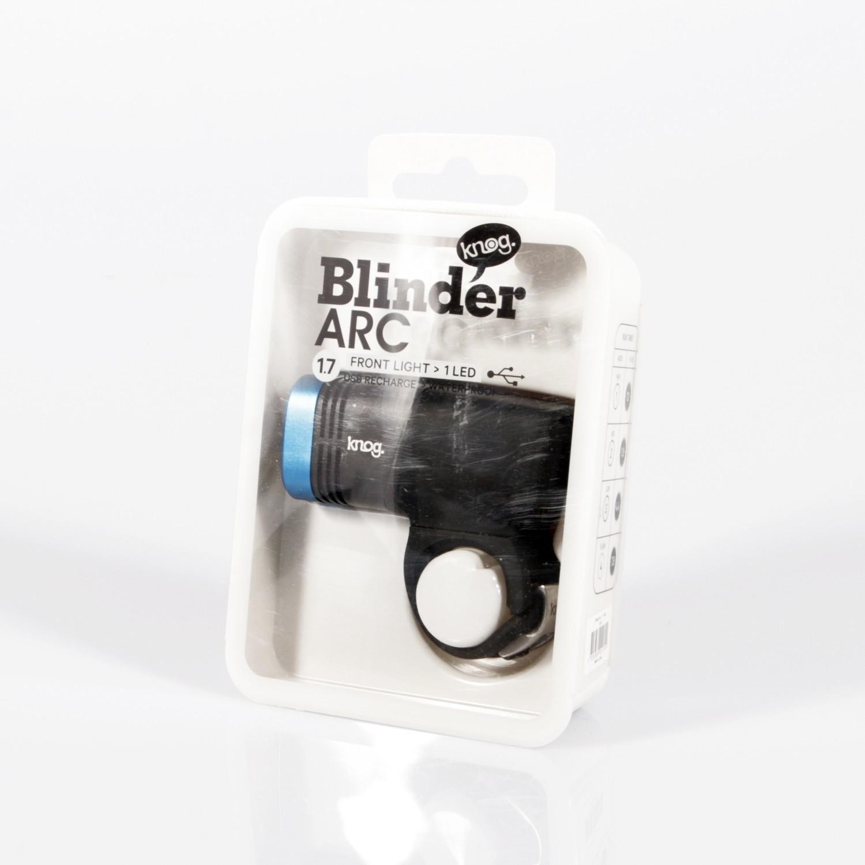 Knog Blinder ARC 1.7 przód – USB!