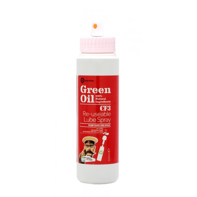 Smar z atomizerem Green Oil CF3