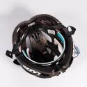 Kask szosa Lazer HELIUM L black white roz.57-60 cm + aeroshell
