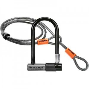 Zapięcie U-lock Kryptonite KryptoLok Series 2 Mini 7 + linka 10mm