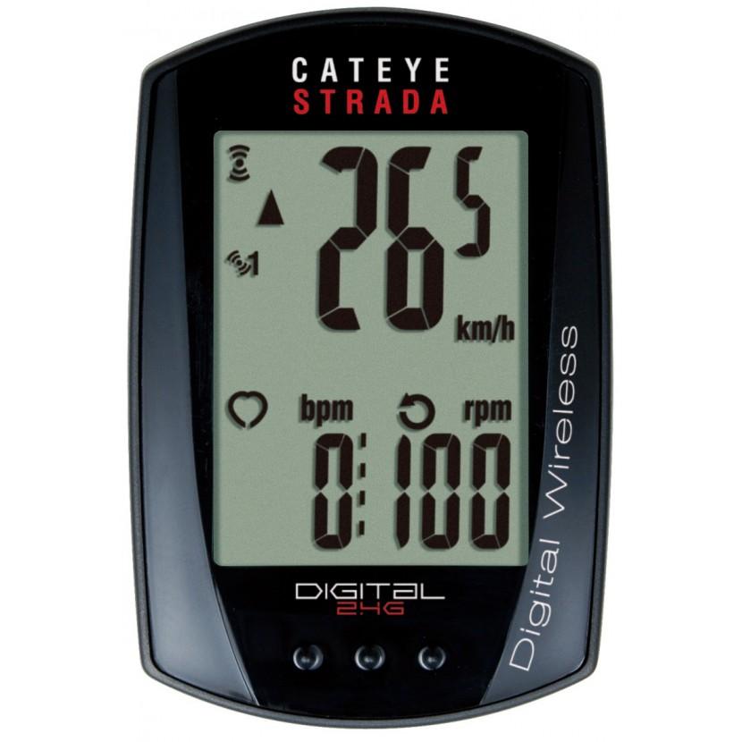 Licznik rowerowy CatEye Strada Digital Wireless CC-RD410DW
