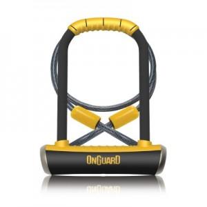 Zapięcie U-lock OnGuard PitBull DT 8005 + linka 120 cm