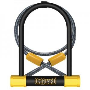 Zapięcie U-lock OnGuard Bulldog DT 8012 + linka 120 cm