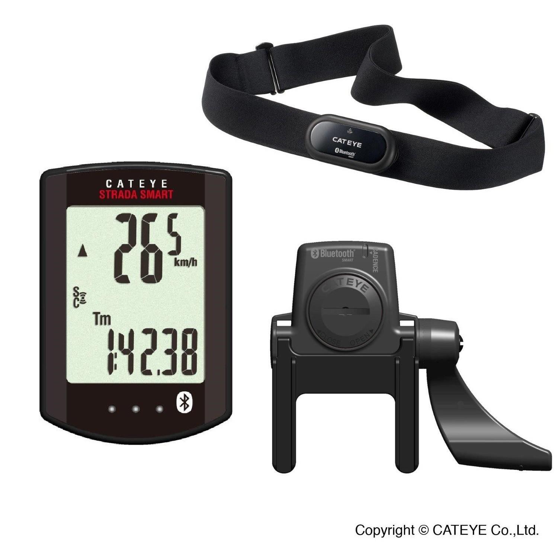 Licznik Rowerowy CatEye Strada Smart CC-RD500B + czujnik kadencji + puls