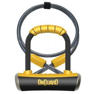 Zapięcie U-lock OnGuard PitBull Min DT 8008 +linka