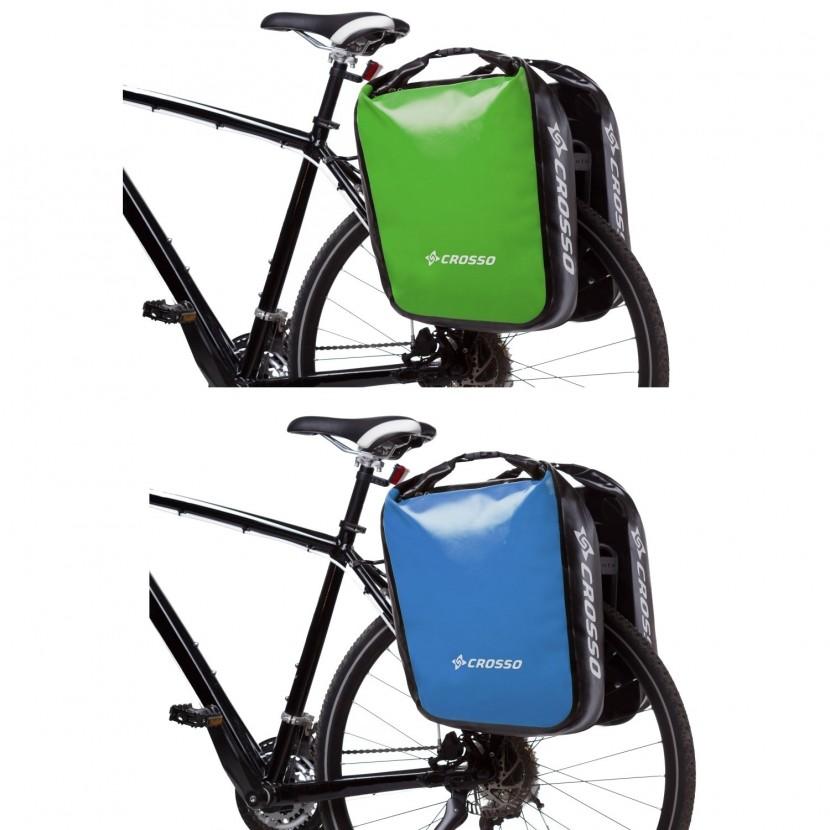 Sakwy rowerowe Crosso Dry Big Adventure  60l zestaw