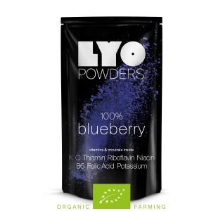 Liofilizowana Eko jagoda proszek 50 g Lyofood