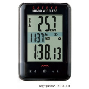 Licznik rowerowy CatEye Micro Wireless CC-MC200W