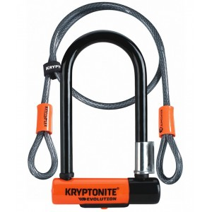 Zapięcie U-lock Kryptonite New-U Evolution Mini 7 + linka