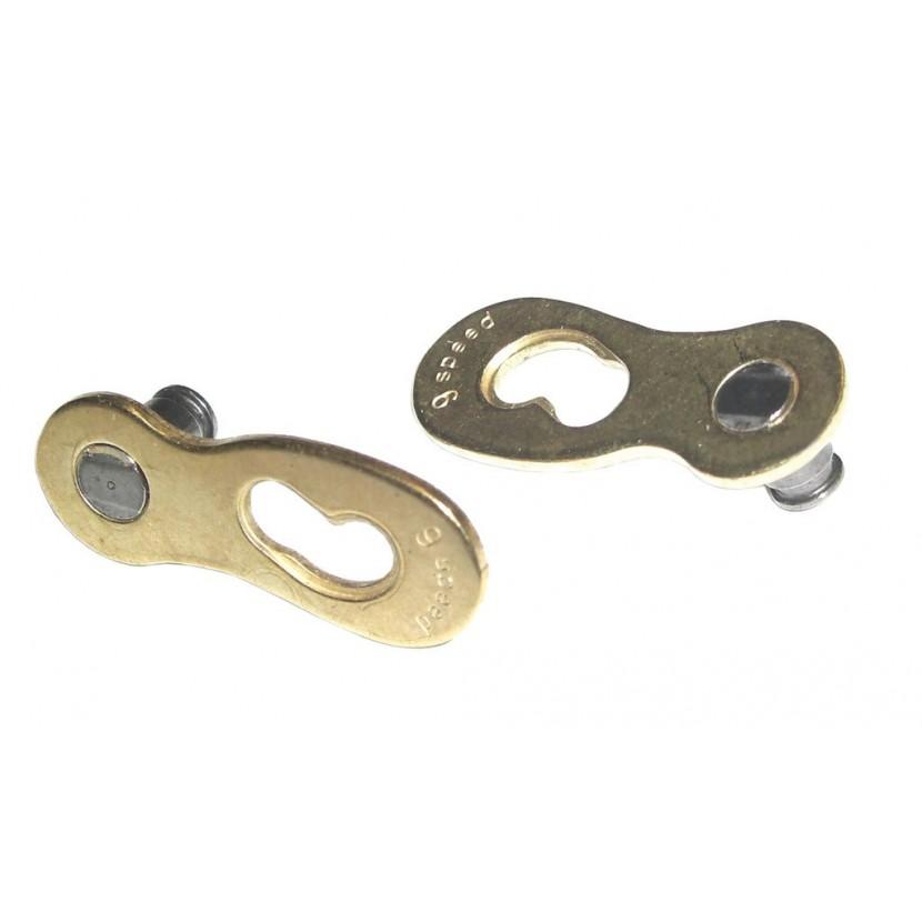 Spinka conneX link 9rzęd. 6.5mm - złota