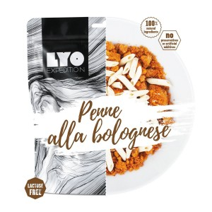 Liofilizowane penne bolognese 500 g Lyofood