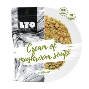 Liofilizowana zupa - krem z grzybów leśnych 370 g Lyofood