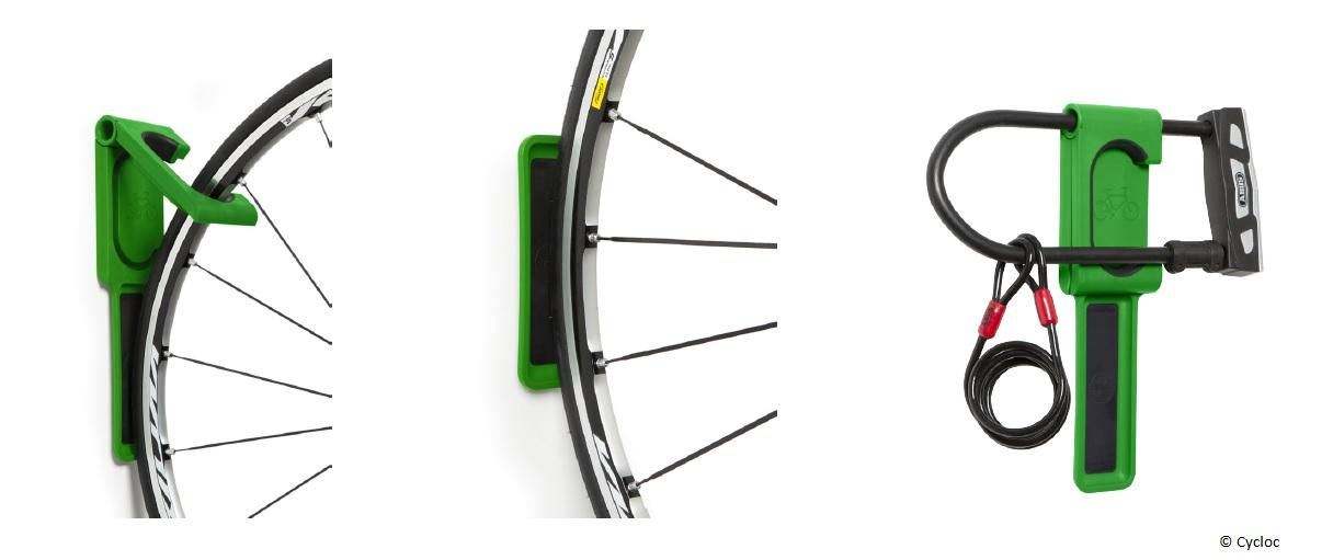 Wieszak na rower Cycloc Endo - cechy akcesroriów rowerowych