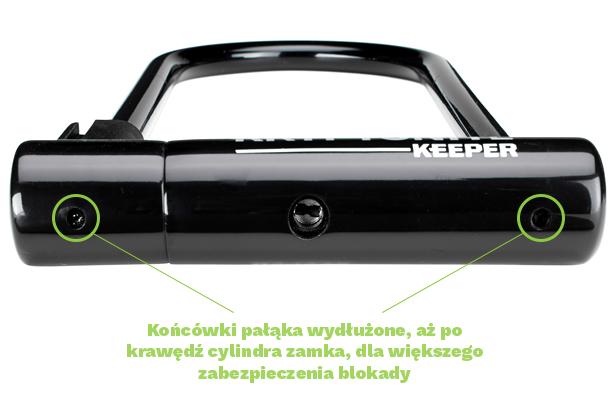 Keeper New-U zmiany w konstrukcji