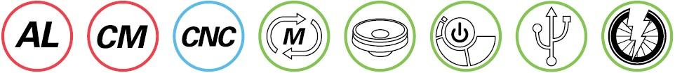 Specyfikacja Lezyne Micro Drive 450XL