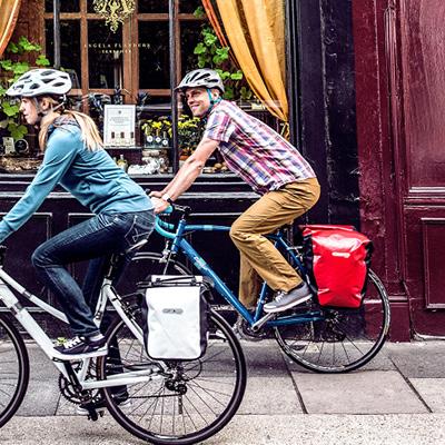 ortlieb city na rowerach