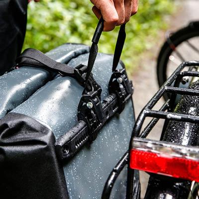 Sakwy Ortliec Back-Roller Classic są wodoodporne.