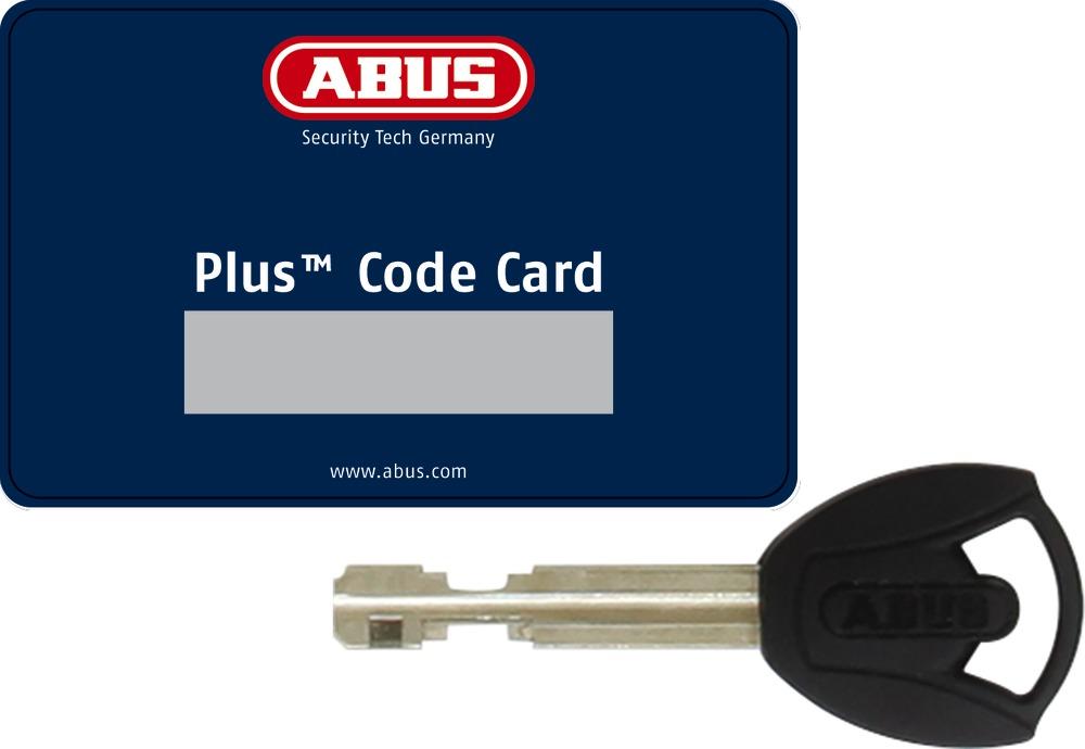 Klucz Abus Plus z kartą z kodem
