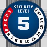 poziom bezpieczenstwa 5