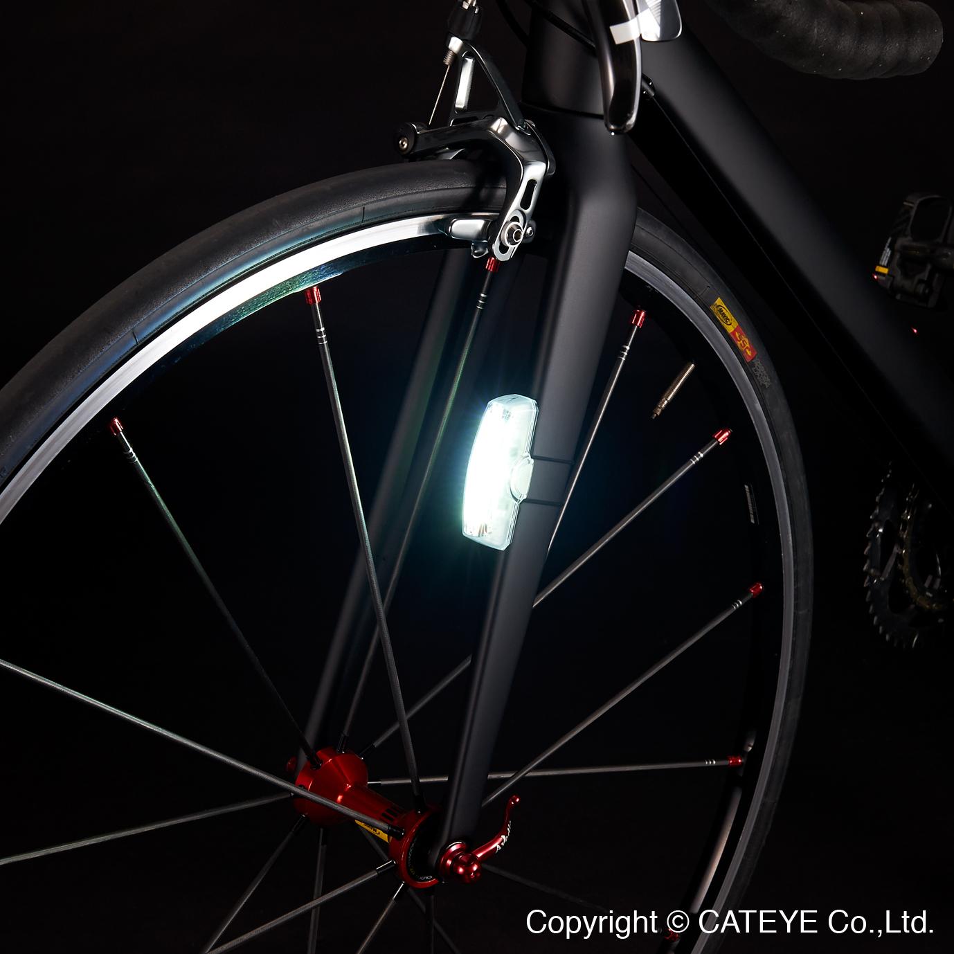 montaż lampki Rapid X3 do widelca