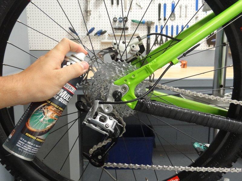 Finish Line Multi czyszczenie napędu roweru